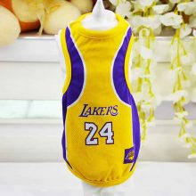 Summer Dog Vest Basketball Jersey Cool Breathable Pet Clothes
